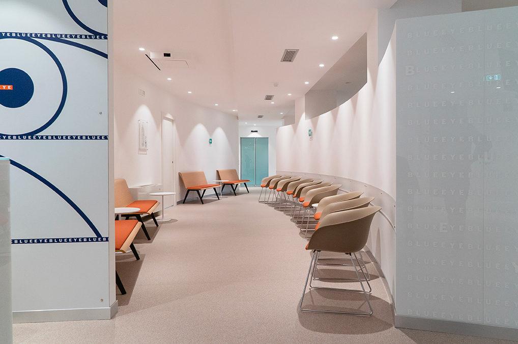 Sala d'attesa di uno studio odontoiatrico